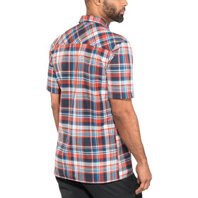 Schöffel Bischofshofen1 UV - T-shirt manches courtes Homme - rouge/bleu